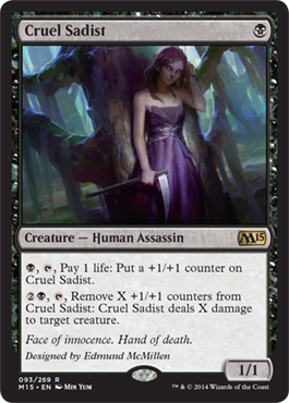 Cruel Sadist | Magic: The Gathering Card