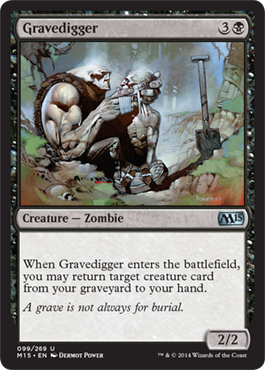 Gravedigger | Magic: The Gathering Card