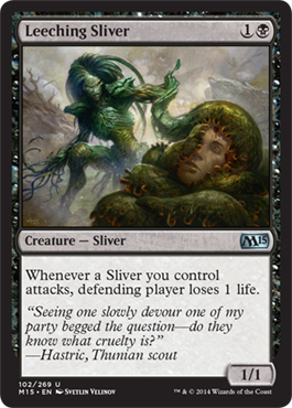 Leeching Sliver | Magic: The Gathering Card
