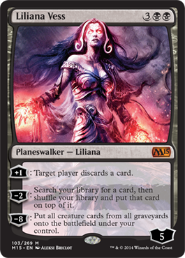 Liliana Vess | Magic: The Gathering Card