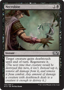 Necrobite | Magic: The Gathering Card