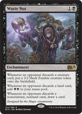 Waste Not | Magic: The Gathering Card