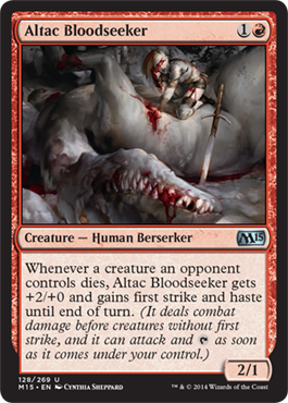 Altac Bloodseeker | Magic: The Gathering Card