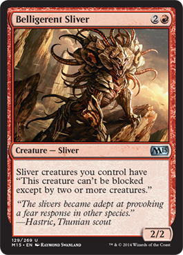 Belligerent Sliver | Magic: The Gathering Card