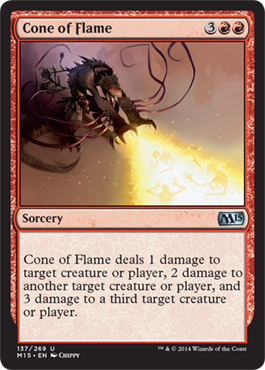 Cone of Flame | Magic: The Gathering Card