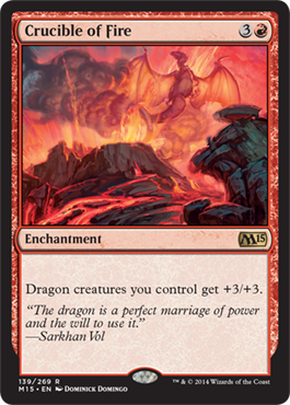 Crucible of Fire | Magic: The Gathering Card