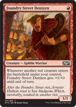 Foundry Street Denizen | Magic: The Gathering Card