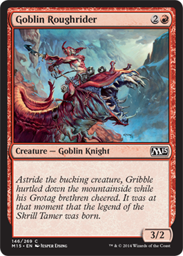 Goblin Roughrider | Magic: The Gathering Card