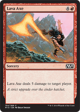 Lava Axe | Magic: The Gathering Card
