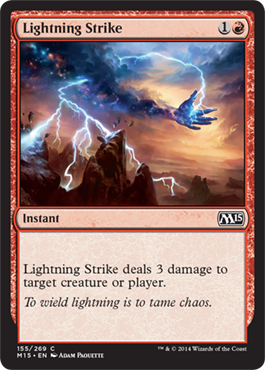 Lightning Strike | Magic: The Gathering Card