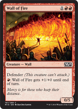 Wall of Fire | Magic: The Gathering Card