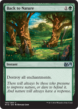 Back to Nature | Magic: The Gathering Card
