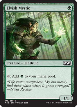 Elvish Mystic | Magic: The Gathering Card