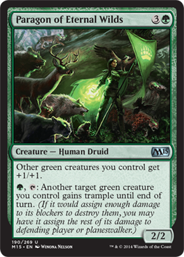 Paragon of Eternal Wilds | Magic: The Gathering Card