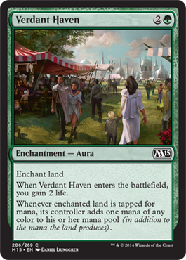 Verdant Haven | Magic: The Gathering Card