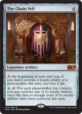 The Chain Veil | Magic 2015 (M15) | Magic: The Gathering ... Planeswalker Activated Ability