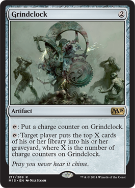 Grindclock | Magic: The Gathering Card