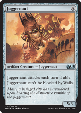 Juggernaut | Magic: The Gathering Card