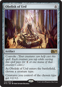 Obelisk of Urd | Magic: The Gathering Card