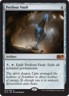 Perilous Vault | Magic: The Gathering Card