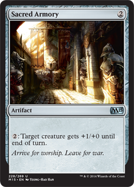 Sacred Armory | Magic: The Gathering Card