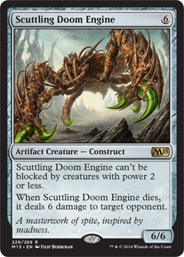 Scuttling Doom Engine | Magic: The Gathering Card