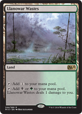 Llanowar Wastes | Magic: The Gathering Card