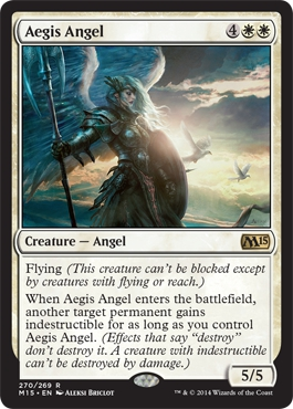 Aegis Angel | Magic: The Gathering Card