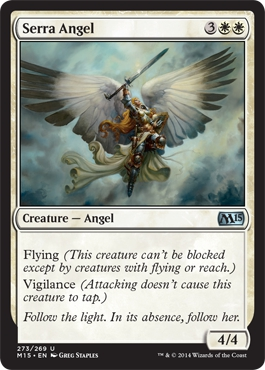 Serra Angel | Magic: The Gathering Card