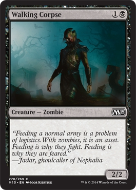 Walking Corpse | Magic: The Gathering Card