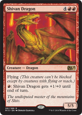 Shivan Dragon | Magic: The Gathering Card