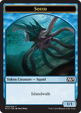 Squid Token | Magic: The Gathering Card