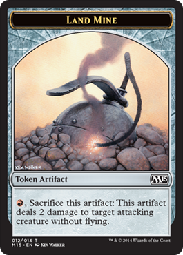 Land Mine Token | Magic: The Gathering Card