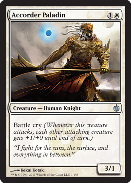Accorder Paladin | Magic: The Gathering Card