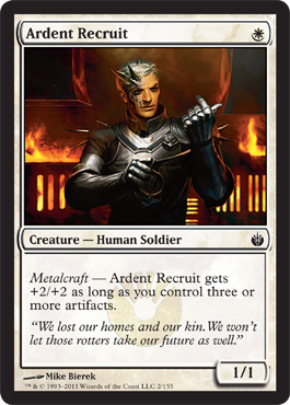 Ardent Recruit | Magic: The Gathering Card