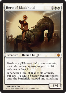 Hero of Bladehold | Magic: The Gathering Card