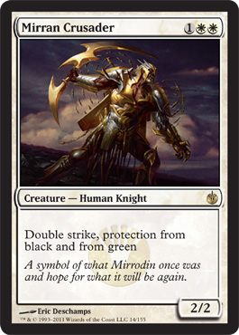 Mirran Crusader | Magic: The Gathering Card