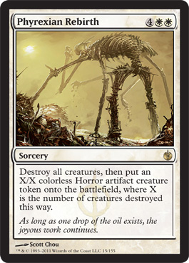 Phyrexian Rebirth | Magic: The Gathering Card