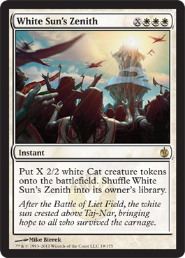 White Sun's Zenith | Magic: The Gathering Card