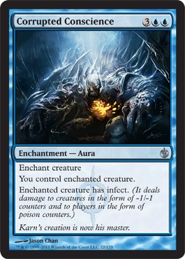 Corrupted Conscience | Magic: The Gathering Card