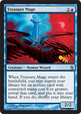 Treasure Mage | Magic: The Gathering Card