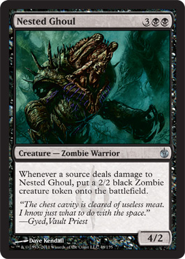 Nested Ghoul | Magic: The Gathering Card