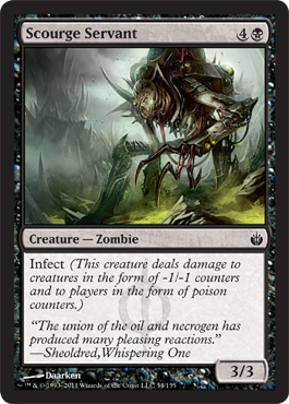 Scourge Servant | Magic: The Gathering Card