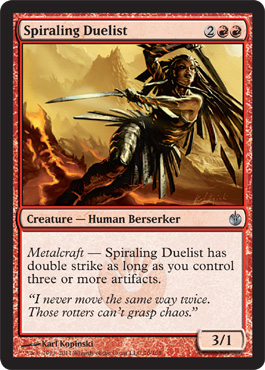 Spiraling Duelist | Magic: The Gathering Card