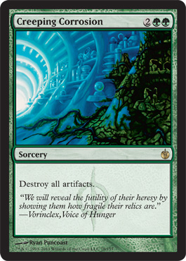 Creeping Corrosion | Magic: The Gathering Card