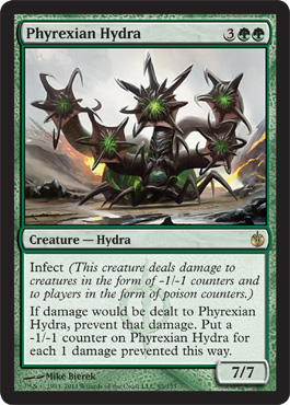 Phyrexian Hydra | Magic: The Gathering Card