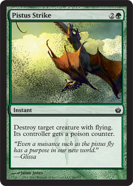 Pistus Strike | Magic: The Gathering Card