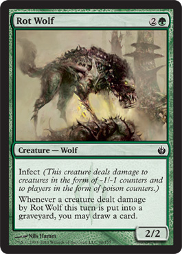 Rot Wolf | Magic: The Gathering Card