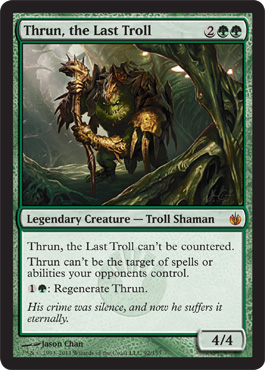 Thrun, the Last Troll | Magic: The Gathering Card