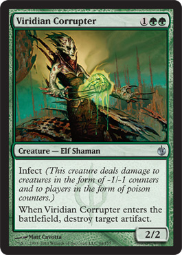 Viridian Corrupter | Magic: The Gathering Card